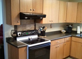 Kitchen remodeling project in Aberdeen, WA