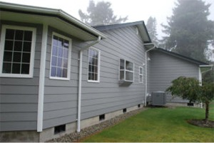 Hardi-plank siding installation in Westport, WA